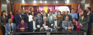 , Diputados Leonelistas denuncian alianza del PRM con el sector oficial para apoyar Primarias Abiertas