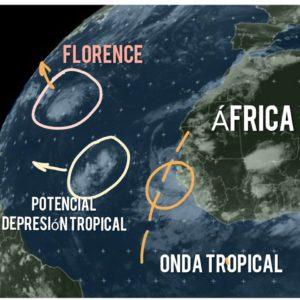 , Tres fenómenos de distinta intensidad en el Atlántico Tropical mantienen en vilo al caribe
