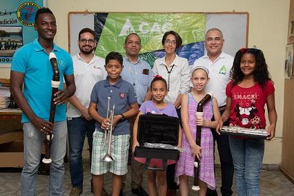 CAC apoya la Sinfónica Juvenil de Barahona