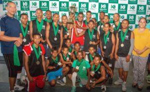 , Culmina el II torneo de baloncesto copa khoury 2018