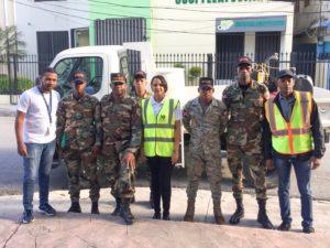 , Khoury Industrial  y Ministerio de Obras Públicas realizan operativo de fumigación en Cabral