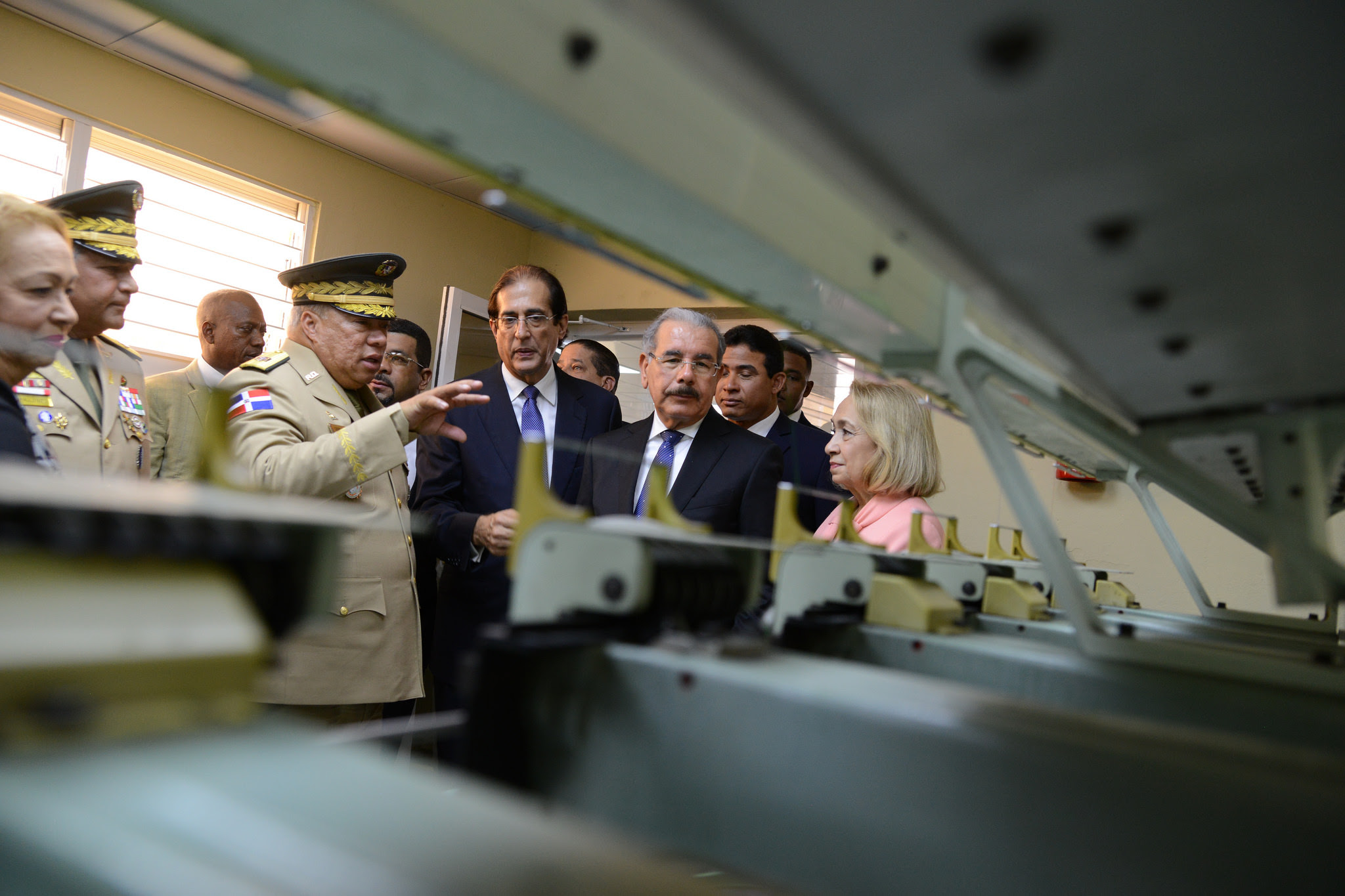 Presidente Danilo Medina entrega Segunda Industria Militar en San Cristóbal