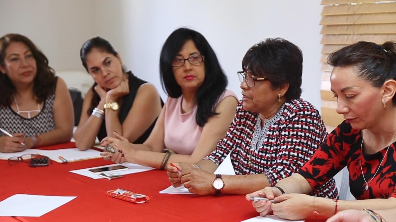 , Legisladoras mexicanas intercambian con mujeres dirigentes de partidos de RD