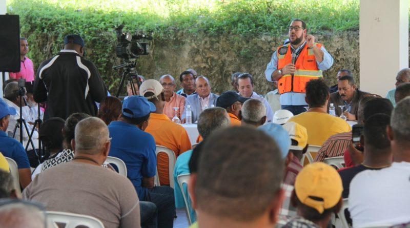 Diputados y Director de Autoridad Portuaria se reúnen en Puerto Plata