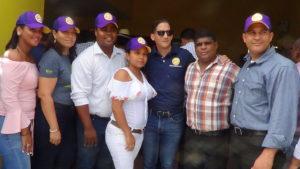 , Resaltan apoyo de la Juventud y la Mujer ha recorrido encabezado por Reinaldo Pared Pérez