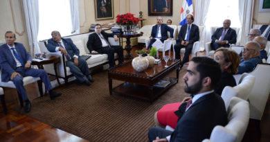 Danilo Medina se reúne con funcionarios del Sistema de Seguridad Social para evaluar avances