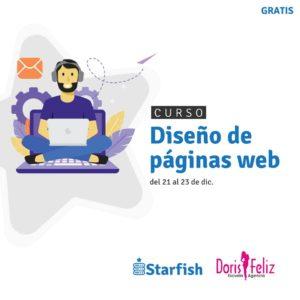 Starfish Host y Doris Feliz Escuela y Agencia se unen para impartir curso diseño de páginas web gratuito