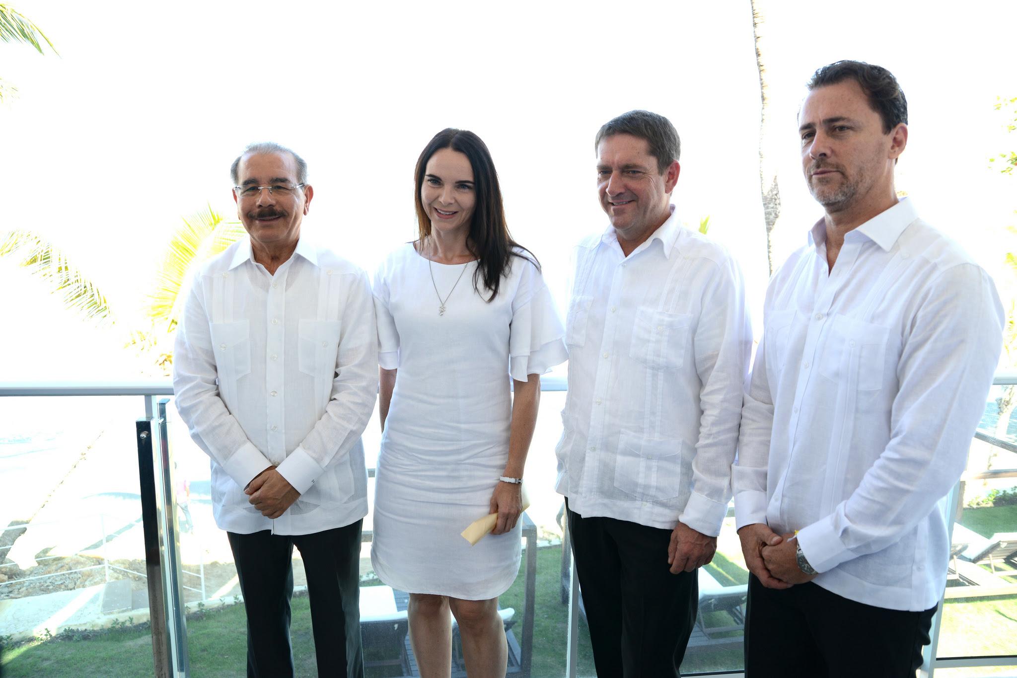 Con la presencia del presidente Medina fue inaugurado el Hotel Presidential Suites Cabarete by Lifestyle