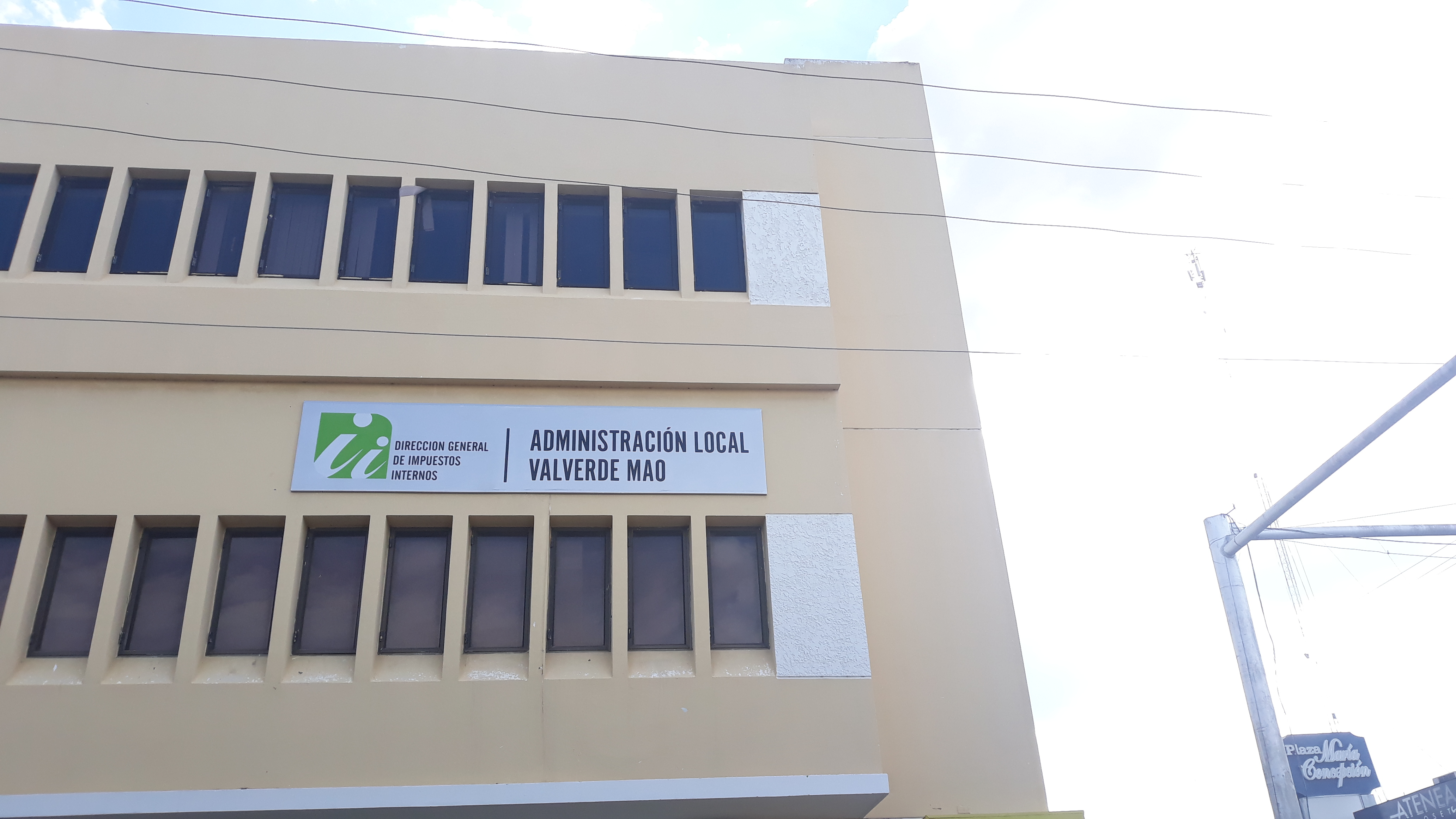 , Administración Local Mao es la nueva oficina entregada por la DGII