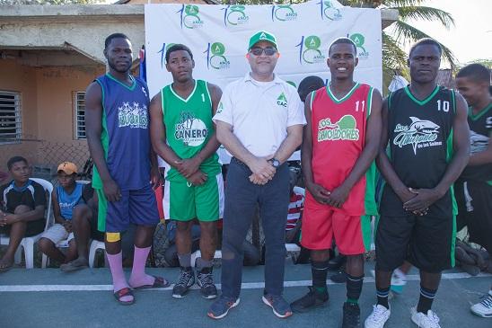 CAC inaugura Torneo Comunitario de Básquetbol Las Salinas 2019