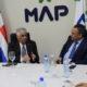 Autoridades del MAP se reúnen con canciller Vargas Maldonado