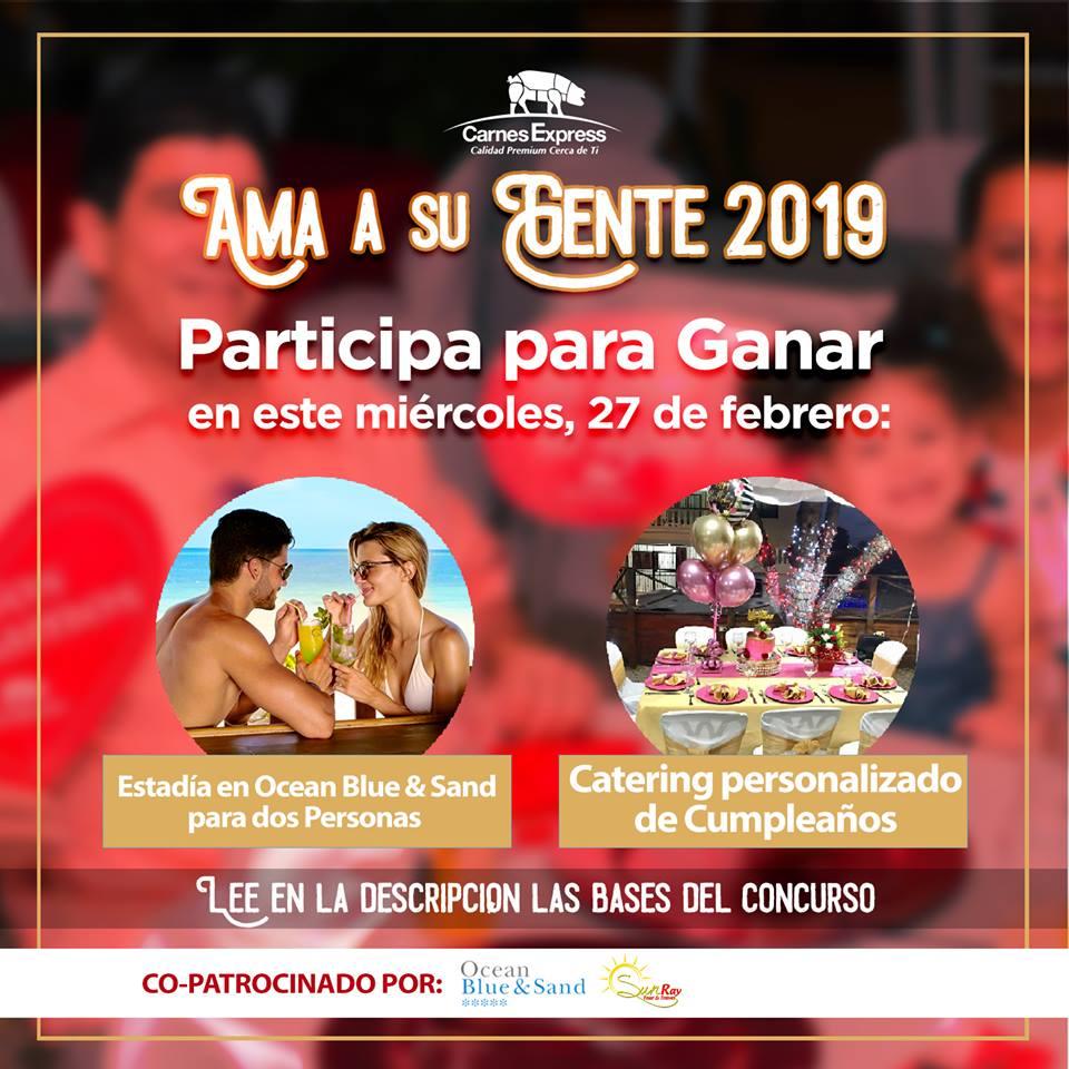 Carnes Express repite concurso Ama a su Gente 2019