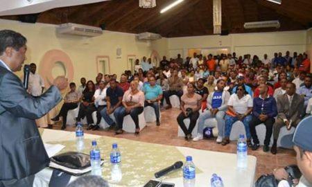 Peledeistas de Barahona respaldan aspiraciones a Senador de Pedro Peña Rubio