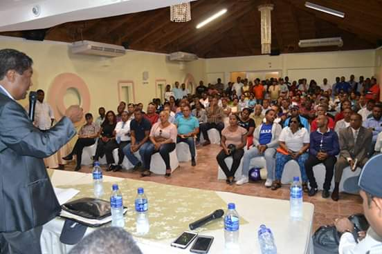 , Peledeistas de Barahona respaldan aspiraciones  a Senador de Pedro Peña Rubio