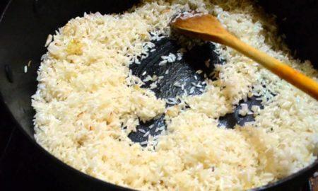 Las sobras de arroz pueden envenenarte
