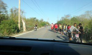 Carreras de motores en carretera Cabral- La lista preocupa usuarios de la vía