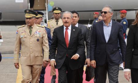 Danilo Medina resalta interés de Donald Trump en cooperar con el Caribe