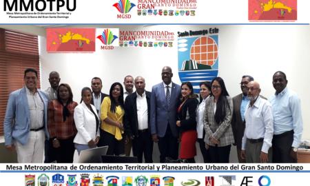 La Mancomunidad del Gran Santo Domingo, MGSD, el ASDE y la DIGEPEG Realizan reunión ordinaria de la MMOTPU