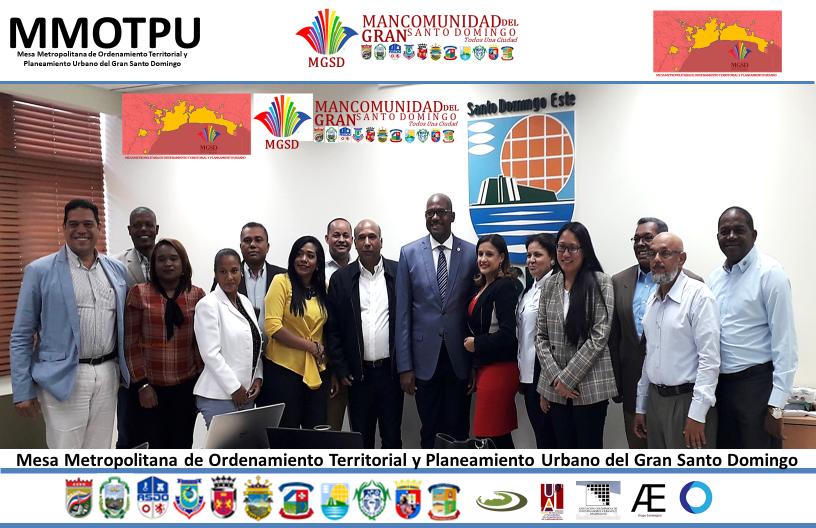 , La Mancomunidad del Gran Santo Domingo, MGSD, el ASDE y la DIGEPEG Realizan reunión ordinaria de la MMOTPU