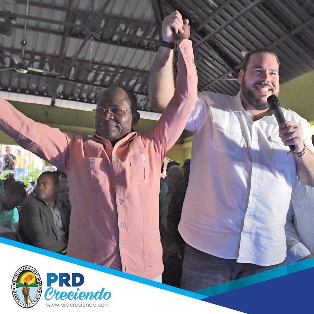 """, PRD lanza precandidatura de Juan B. Brito Reyes, """"Maniquí"""" para la Alcaldía municipio de Haina."""