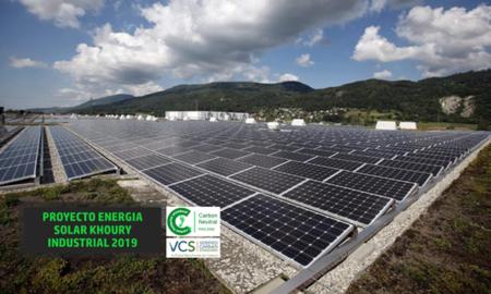 Khoury Industrial instalara 1.5 megavatios de energía solar