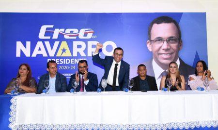 Movimiento Creo RD realizó acto en apoyo aspiraciones de Navarro