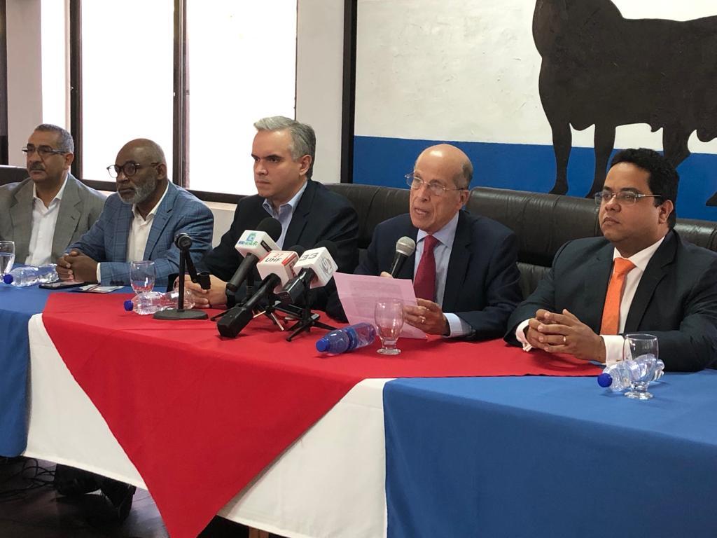 , Cuatro partidos llevarán candidaturas comunes en 2020