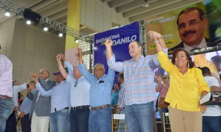 Dirigentes de PLD en Barahona dan respaldo contundente a la gestión del presidente Medina.