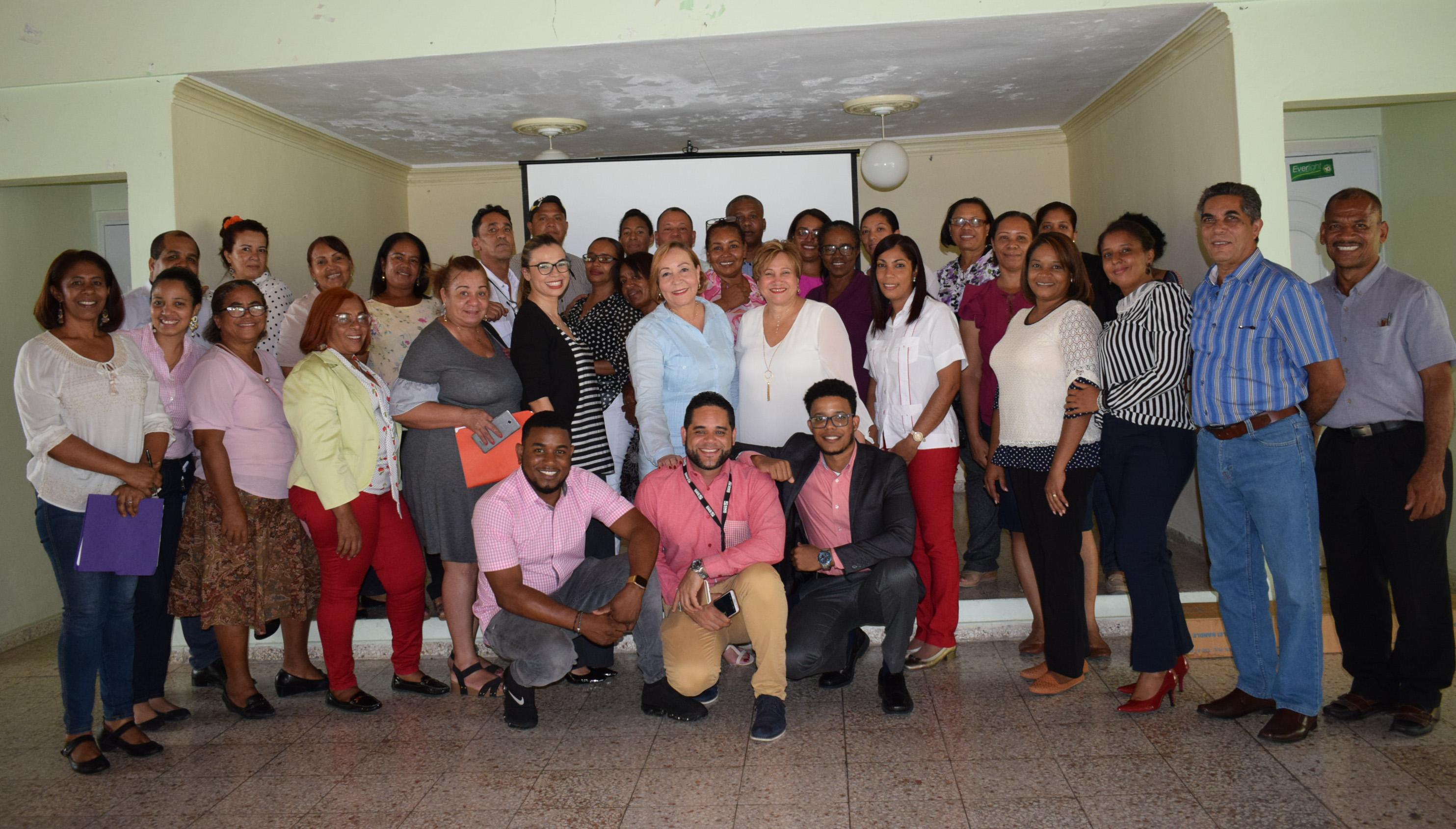 , SNS Capacita colaboradores de los hospitales del Servicio Regional de Salud Enriquillo.