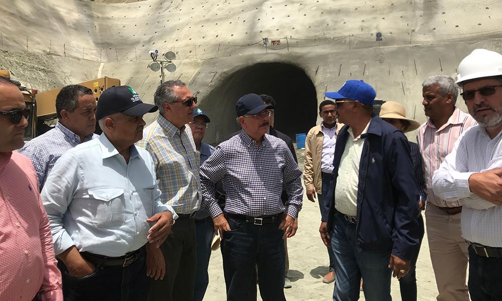 apertura hoy a los túneles de la Presa de Monte Grande, Danilo Medina dará la apertura  hoy a los túneles de la Presa de Monte Grande y primer picazo a proyecto habitacional