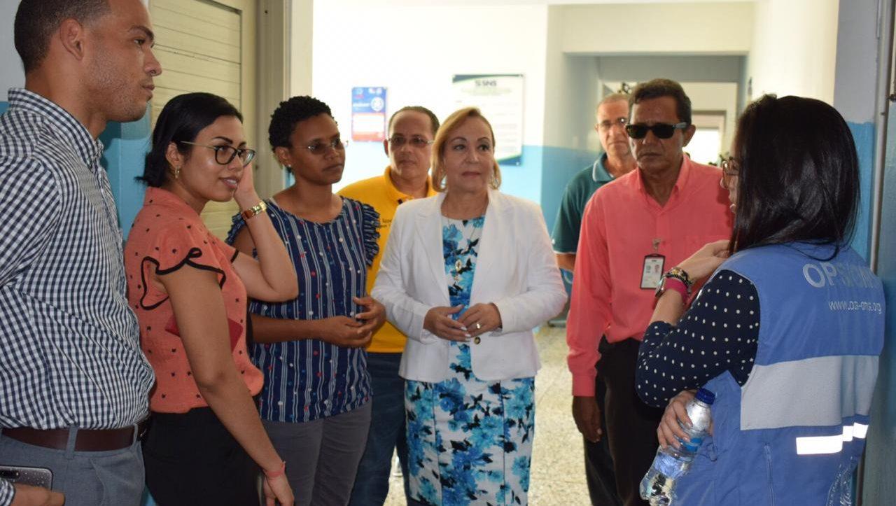 , Directora de Salud de Surinam visita Región Enriquillo para conocer buenas prácticas