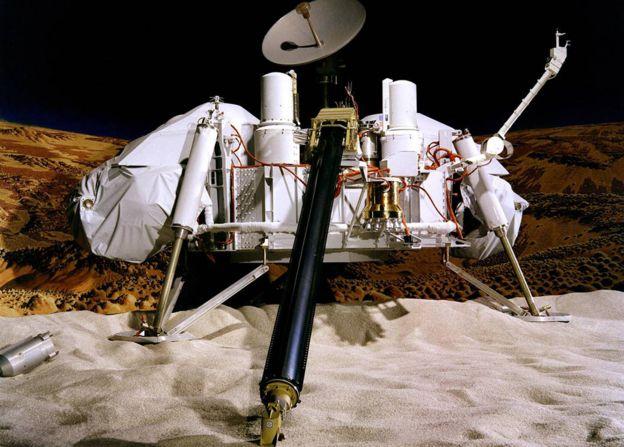 La NASA encontró evidencia de vida en Marte en la década del 70