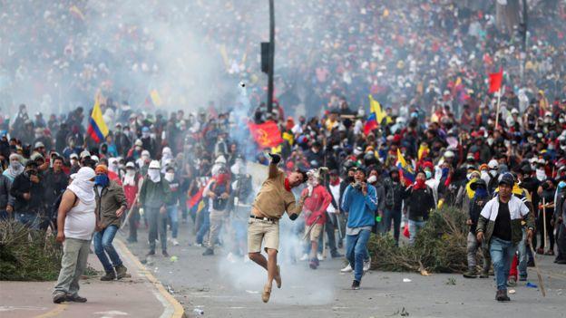 , Se agudiza Crisis en Ecuador