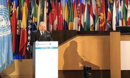 El ministro de Cultura expone en la UNESCO