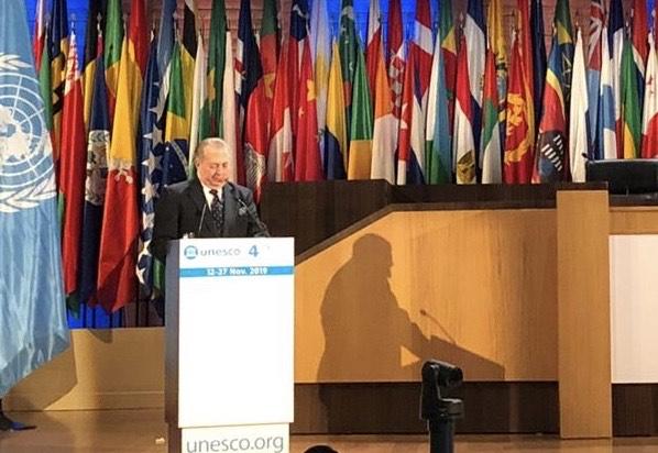 , El ministro de Cultura expone en la UNESCO