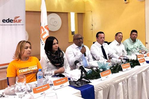 , Edesur incluye este año más de 40 mil dominicanos en 24 horas en provincias Región Enriquillo