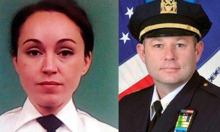 Sorprenden a oficiales de la policía sosteniendo relaciones sexuales en el baño de cuartel en Manhattan