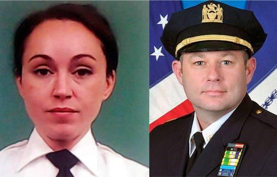 , Sorprenden a oficiales de la policía sosteniendo relaciones sexuales en el baño de cuartel en Manhattan