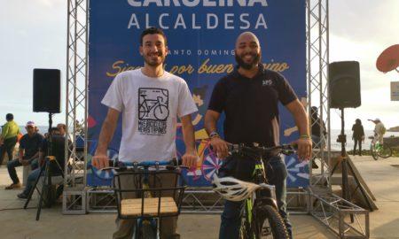 Ciclistas se debaten posición en la Alcaldía del DN; proponen medidas medioambientales