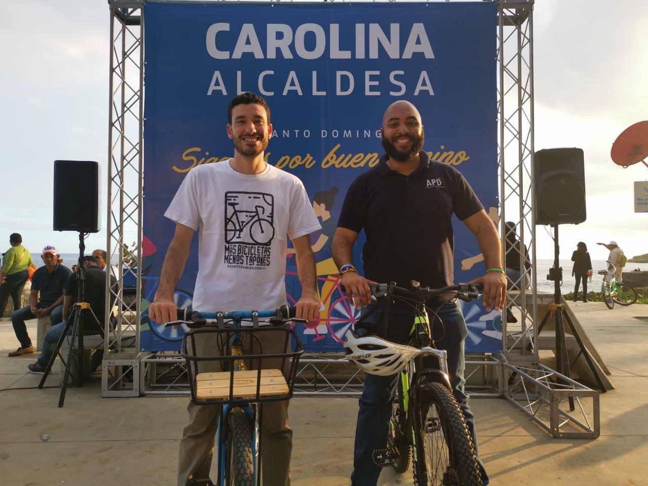 , Ciclistas se debaten posición en la Alcaldía del DN; proponen medidas medioambientales