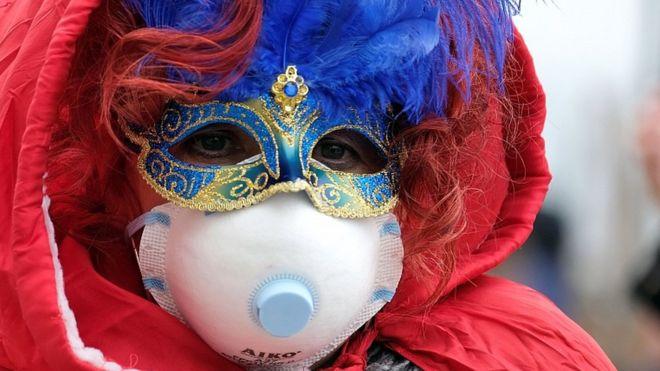 Italia adelanta el cierre del carnaval de Venecia por Coronavirus