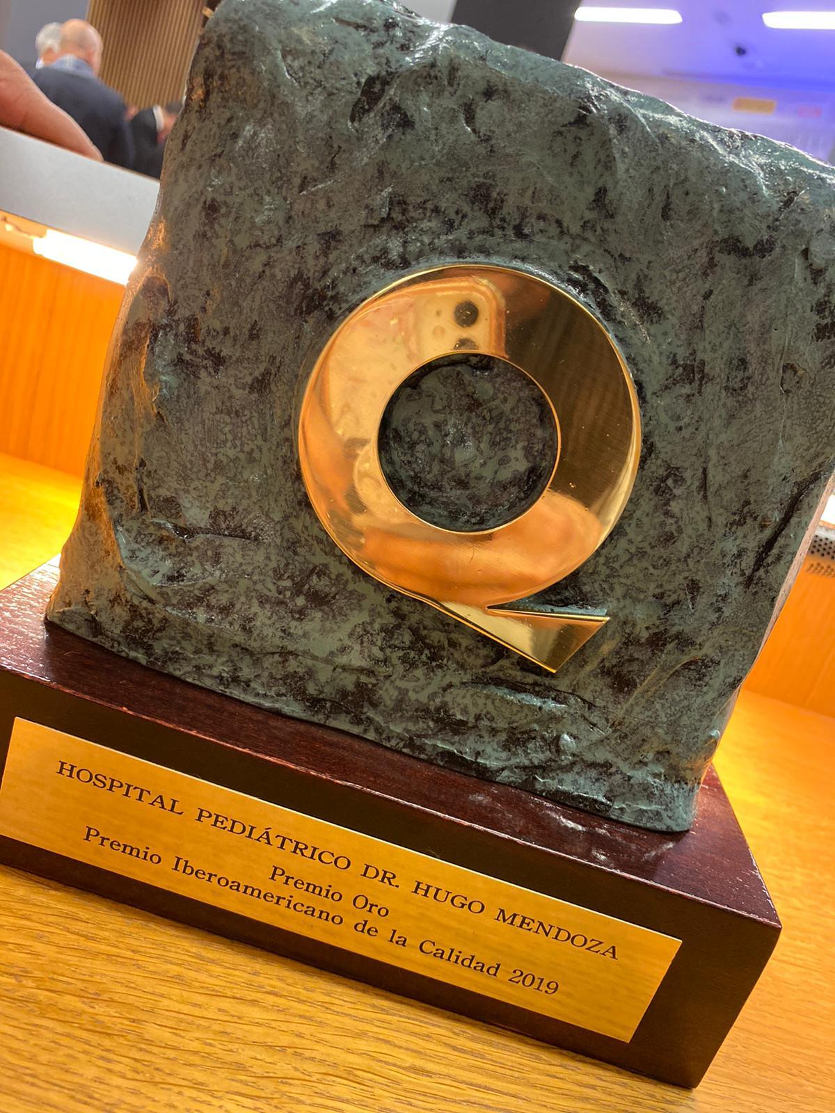 , Hospital público gana Oro en Premio Iberoamericano de la Calidad
