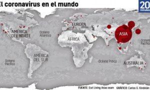 """La OMS: """"Se acaba el tiempo"""" para evitar la propagación mundial del coronavirus"""