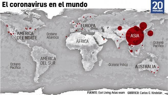 """, La OMS: """"Se acaba el tiempo"""" para evitar la propagación mundial del coronavirus"""