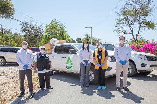 Consorcio Azucarero Central y Fundación Central Barahona combaten COVID-19 en región Enriquillo