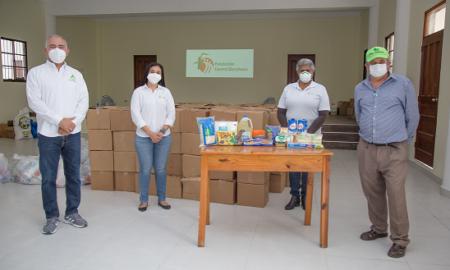 CAC y FCB extiende su mano solidaria con raciones de alimentos a más de 1500 personas, CAC y FCB extiende su mano solidaria con raciones de alimentos a más de 1500 personas