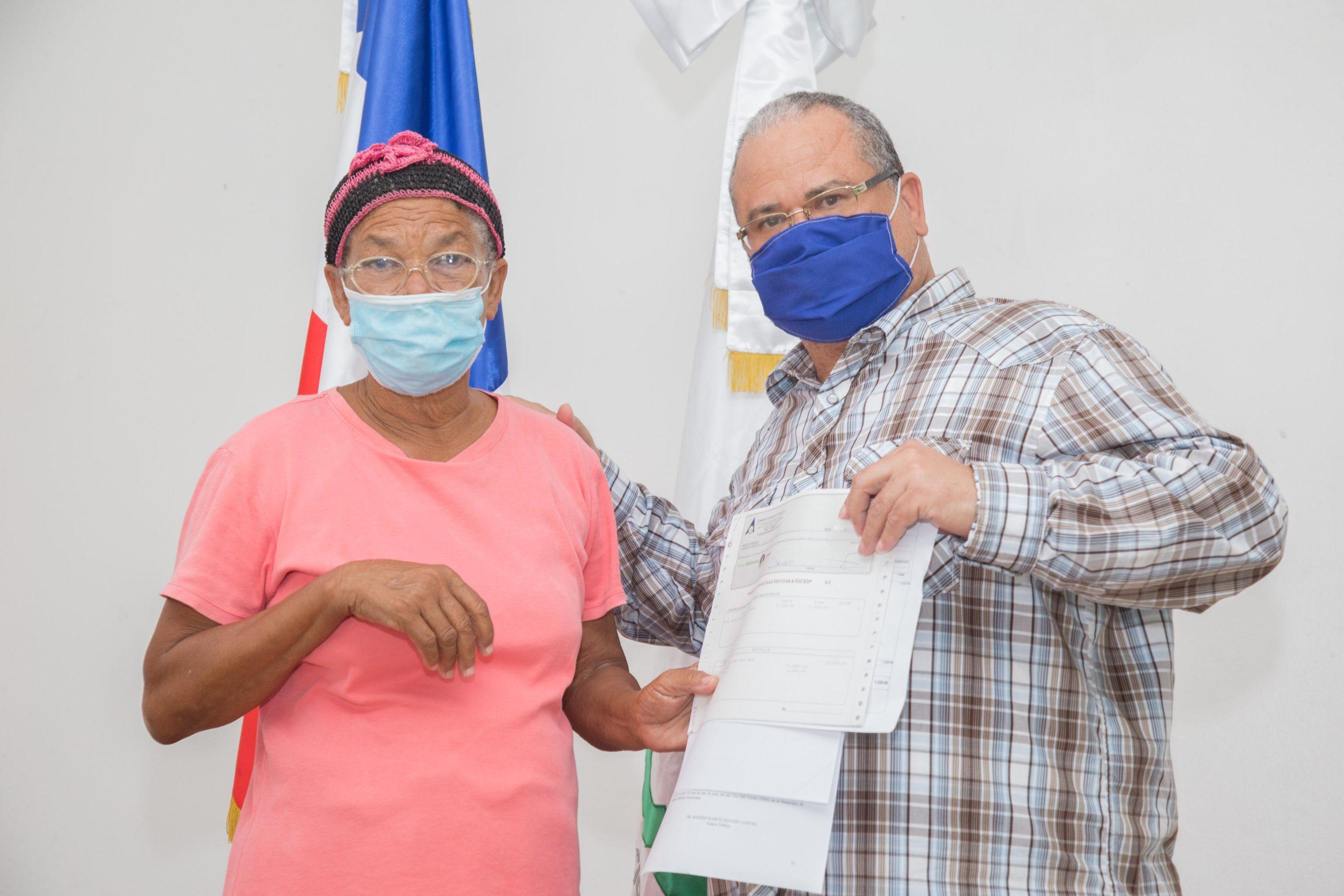 , CAC paga más de RD$9.9 millones a parceleros de Proyecto Angostura