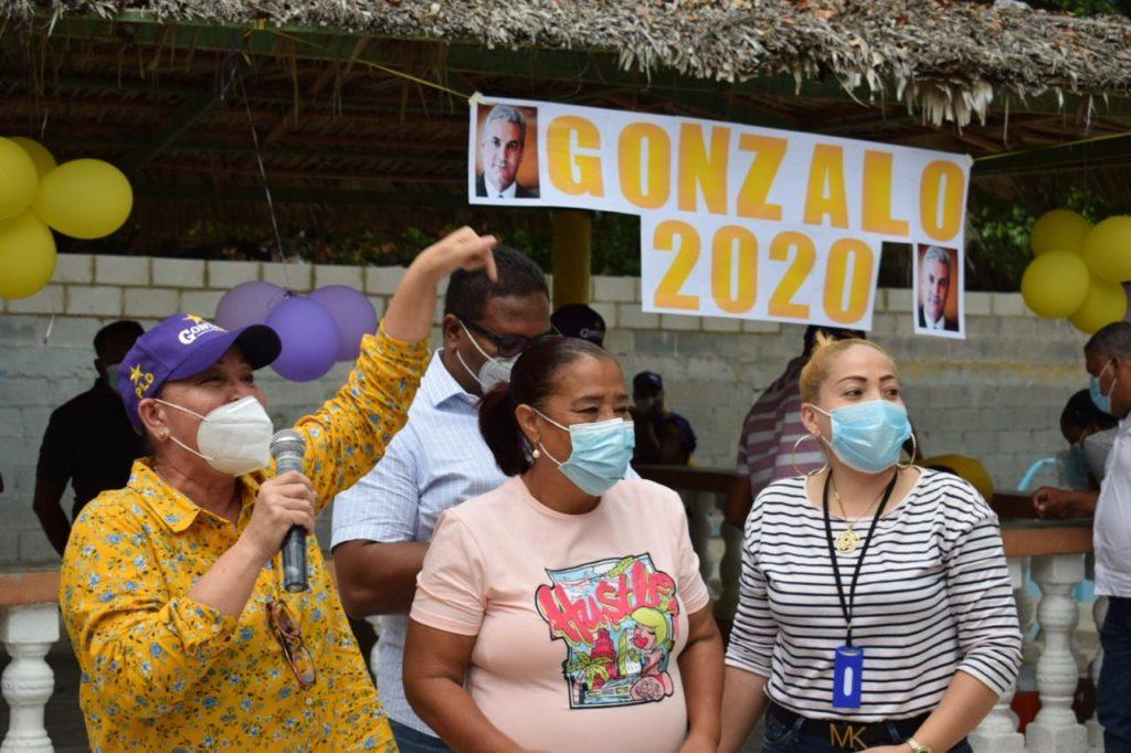 , Sector Salud de Cabral ofrece respaldo a la diputada Ñiñin
