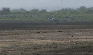 Sequía y mal manejo estatal comprometen la vida de la reserva científica Laguna De Cabral.