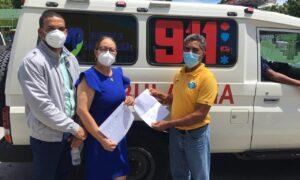 SNS entrega ambulancia a hospital de Pedernales para traslado de pacientes COVID-19, SNS entrega ambulancia a hospital de Pedernales para traslado de pacientes COVID-19